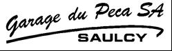 Logo du garage du Péca - Saulcy